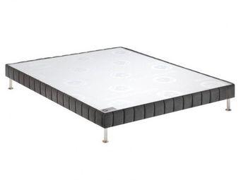 Bultex - bultex sommier double tapissier confort ferme ant - Sommier Fixe À Ressorts