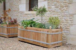 jardinieres.net - acacia rectangulaire - Bac D'orangerie