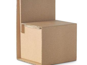 Corvasce Design - cardboard chair quercia - Chaise