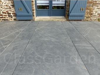 CLASSGARDEN - terrasse de 5 m² en dalle sciée de 50x50 - Dalle D'extérieur