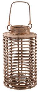 Aubry-Gaspard - lanterne de jardin en poelet gris - Lanterne D'extérieur