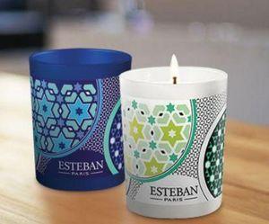 ESTEBAN - azulejos - Bougie Parfumée