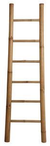 Aubry-Gaspard - echelle porte serviettes en bambou - Echelle Décorative