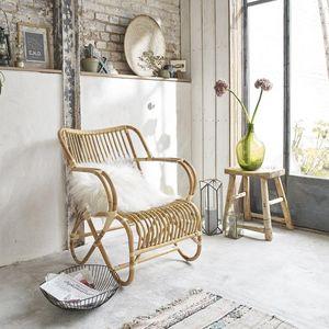 BOIS DESSUS BOIS DESSOUS - fauteuil en rotin cosy - Fauteuil