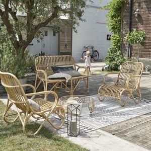 BOIS DESSUS BOIS DESSOUS - salon de jardin relax en rotin - Salon De Jardin