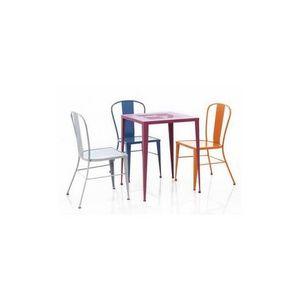 Mathi Design - chaise métal coffee - Chaise