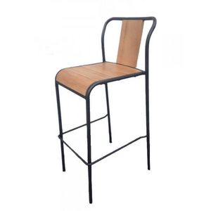 Mathi Design - 2 chaises hautes de bar key west - Chaise Haute De Bar