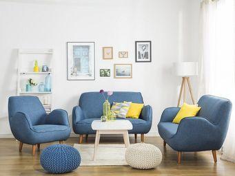 BELIANI - fauteuil - Canapé 3 Places