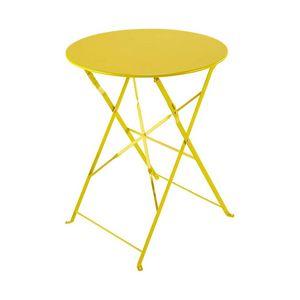 Table pliante carrée couleur aubergine 57 x 57 x 74 cmTable de ...