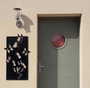 Generative-lab - le vol de papillons - Décoration Murale