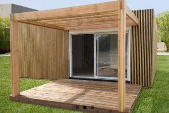 WOOD DESIGN -  - Maison En Bois