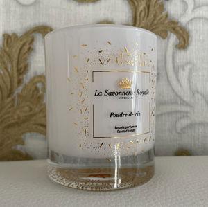 LA SAVONNERIE ROYALE - bougie parfumée poudre de riz sublimatio - Bougie Parfumée