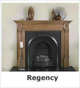 Period Stone Fireplaces -  - Cheminée À Foyer Fermé
