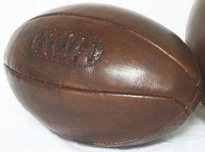 JOHN WOODBRIDGE - 6 panneaux 1930 - Ballon De Rugby