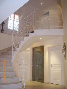 FERRONNERIE VAUZELLE -  - Rampe D'escalier