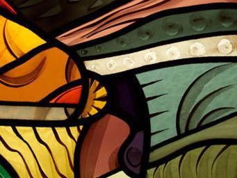 Atelier 1..2..3 vitrail - imagine - Vitrail