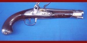 Cedric Rolly Armes Anciennes - pistolet demi arcon revolutionnaire - Pistolet Et R�volver