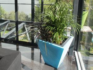 Green Colors - square line - Pot De Jardin