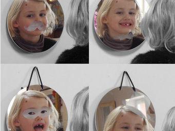 METYLOS - crazy - Miroir Sérigraphié