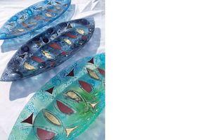Julie Langan Glass Design -  - Plat À Hors D'oeuvres