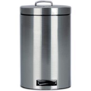 John Corby - pedal bins 3 litre brushed steel (case qty 6) - Poubelle De Cuisine
