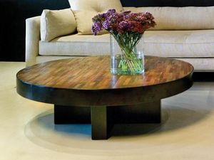 Environmental Street Furniture - santomer  - Table Basse Ronde