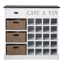 Cave vin comptoir des pices range bouteilles de - Fabriquer un range bouteille ...