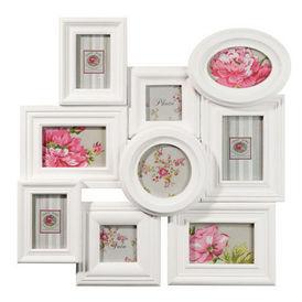 Cadre aristine blanc cadre photo maisons du monde - Cadre photo maison du monde ...