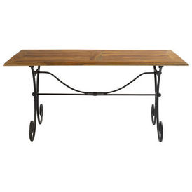 Table d ner 160 cm lub ron table de repas - Maison du monde table de salon ...