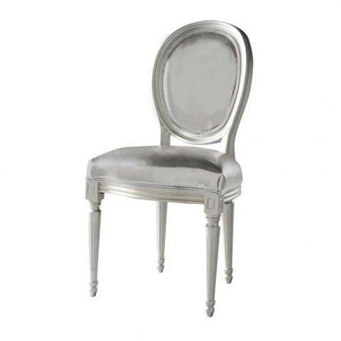 chaise argent louis chaise m daillon maisons du monde. Black Bedroom Furniture Sets. Home Design Ideas