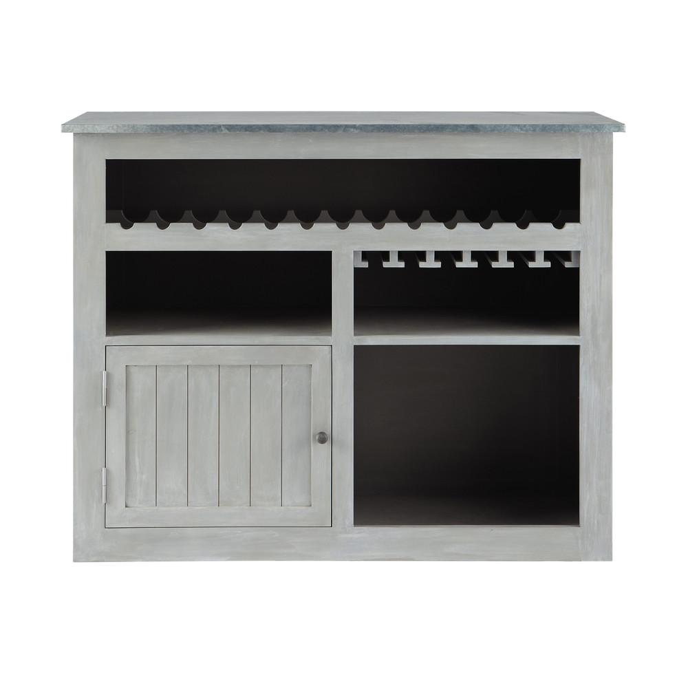Zinc meuble bar maisons du monde decofinder for Maisons du monde email