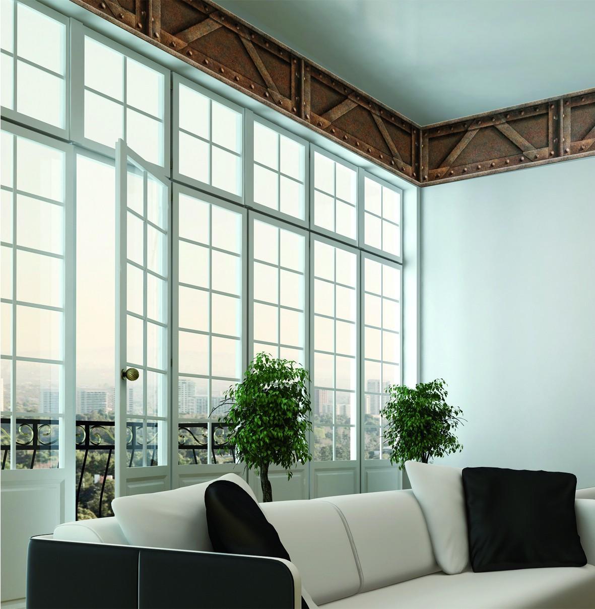 papier peint trompe l 39 oeil papier peint rouille koziel. Black Bedroom Furniture Sets. Home Design Ideas