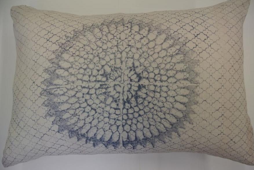 coussin fateh 2coussin rectangulaire coton claire gasparini. Black Bedroom Furniture Sets. Home Design Ideas