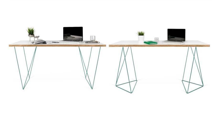 taho bureau blanc camif decofinder. Black Bedroom Furniture Sets. Home Design Ideas