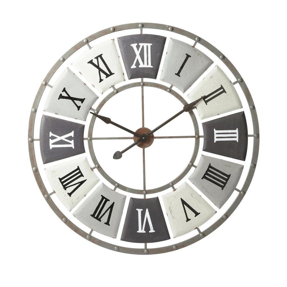 Imprimerie Horloge Murale Maisons Du Monde Decofinder