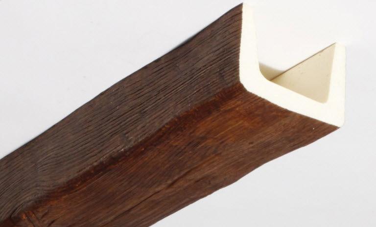 t 01 ch ne moyen en fausse poutre polyurethane. Black Bedroom Furniture Sets. Home Design Ideas