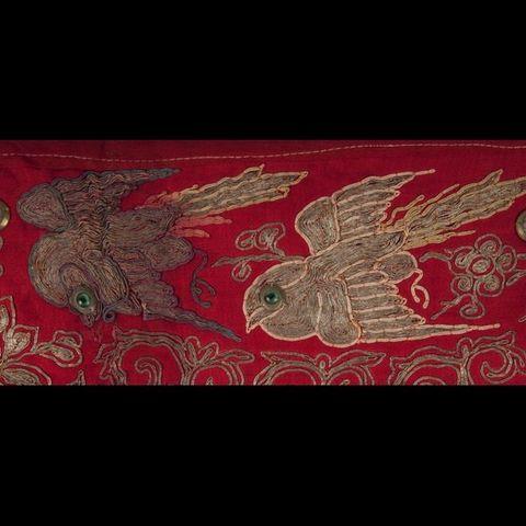 Expertissim - Broderie-Expertissim-Broderie chinoise de la fin du XIXe siècle