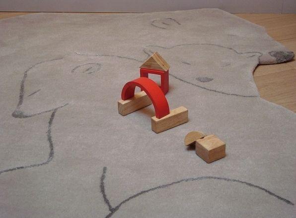 ART FOR KIDS - Tapis enfant-ART FOR KIDS-Tapis Famille Ours