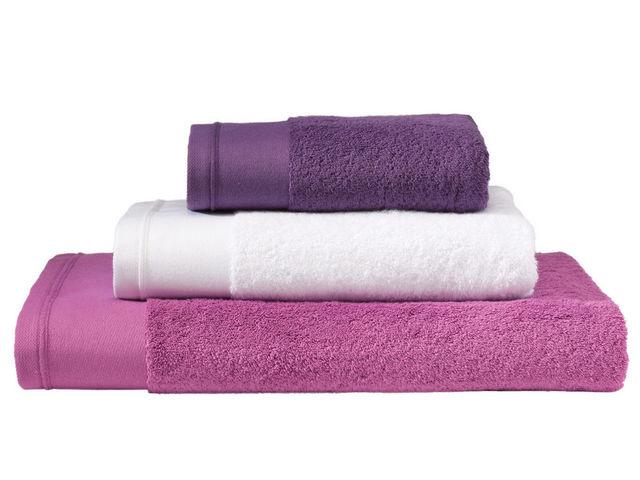BLANC CERISE - Serviette de toilette-BLANC CERISE-Drap de bain - coton peigné 600 g/m² - uni