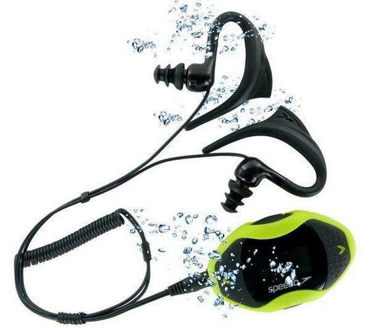 SPEEDO - MP3-SPEEDO-Lecteur MP3 AquaBeat 2.0 4 Go - jaune