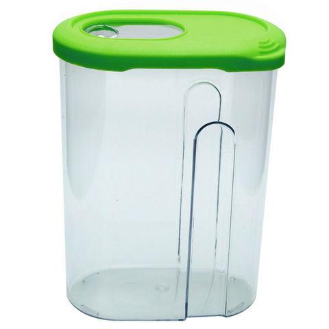 WHITE LABEL - Boite à biscuits-WHITE LABEL-Boite verseuse en plastique transparent