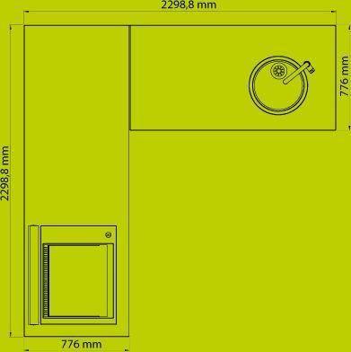 NOBLINOX - Cuisine d'extérieur-NOBLINOX-Cuisine d'angle / Personnalisable