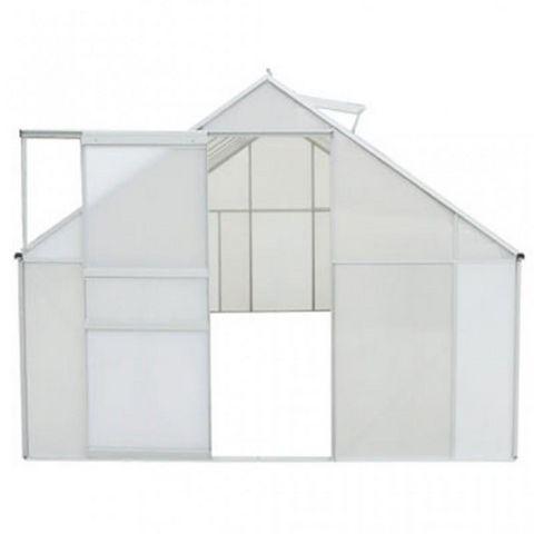 WHITE LABEL - Serre-WHITE LABEL-Serre de jardin polycarbonate 9,25 m²