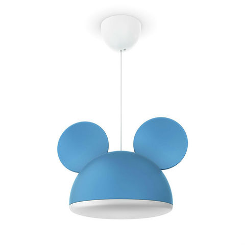 Philips - Suspension Enfant-Philips-DISNEY - Suspension Mickey Mouse Bleu Ø26cm | Lumi