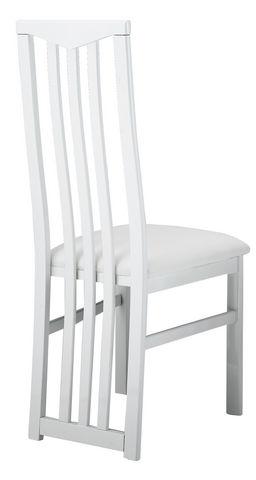 COMFORIUM - Chaise-COMFORIUM-Lot de 2 chaises blanches ultra design