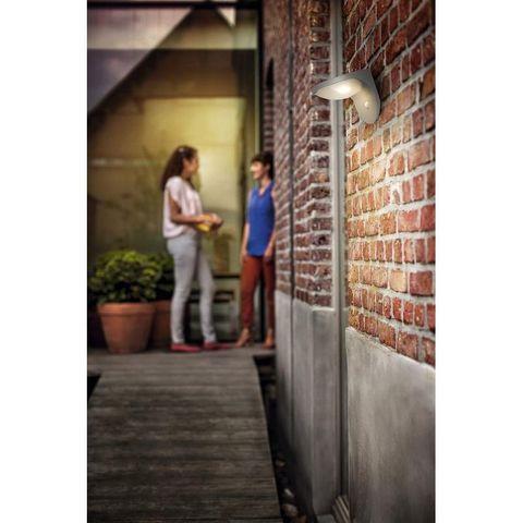 Philips - Applique d'extérieur-Philips-Applique détecteur solaire Dusk IR LED IP44 H13,6