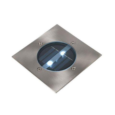 LUCIDE - Spot encastré de sol-LUCIDE-Spot extérieur encastrable carré Solar LED IP44