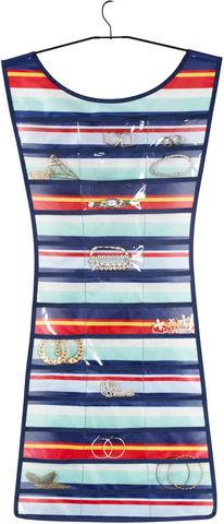 Umbra - Accessoire de salle de bains (Set)-Umbra-Range bijoux Petite robe Rayée