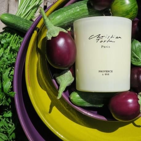 Christian Tortu Bougies - Bougie parfumée-Christian Tortu Bougies-Christian Tortu - Provence l'été