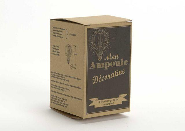 Amadeus - Ampoule à filament-Amadeus-Ampoule retro Globe Diamètre 8cm